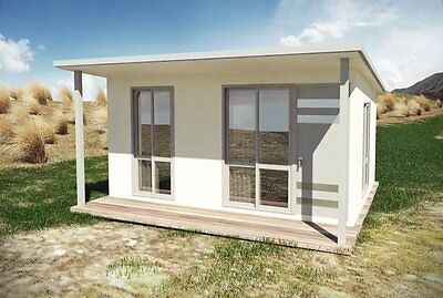 Kit homes - DIY - Building Plans - Granny Flat - Home Office Plans - Small House