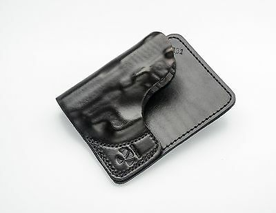 Talon Concealed Carry Leather Wallet Holsters Sig Sauer P-238 RH(Black) No Laser