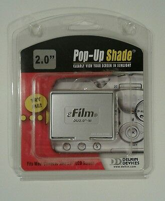 """Delkin pop up shade Delkin pop-up shade for 2.0"""" LCD screens...A"""