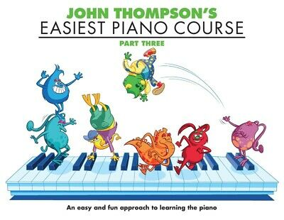 John Thompson's Easiest Piano Course - Part 3 / Three  Book only - WMR000231