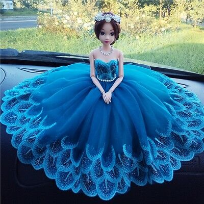 Handmade Princess Doll Car Ornaments Cute Car Accessories Car Auto Supplies