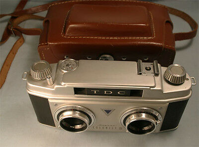 TDC Colorist II 35 mm Stereo Camera with Rodenstock 1:3.5 lens  MINT