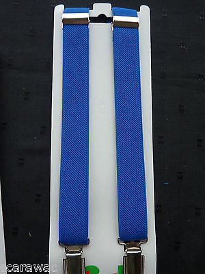 BRACES for BOYS/GIRLS/CHILDREN/KIDS -BRAND NEW- ROYAL BLUE - fit approx.1-6 yrs.