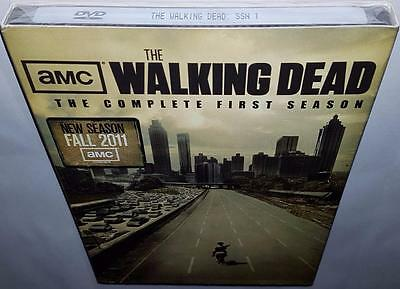 The Walking Dead Complete Season 1 Brand New Sealed R1 Dvd