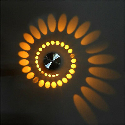RGB modern 3W led wall lamp Wall Wash Lights Creative Indoor Wall Sconce Lamp