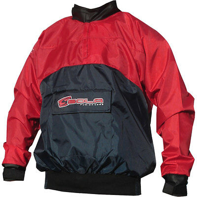 Sola Basic Spray Top - Waterproof / Windproof / Breathable - Blue/Red