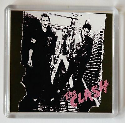 The Clash Album Cover Fridge Magnet