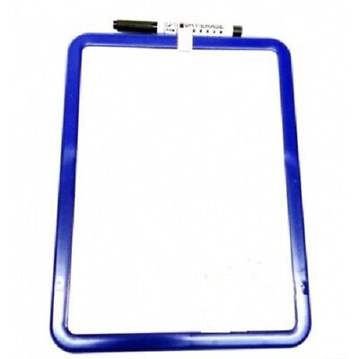 DGI - Dry Wipe Board with Pen 28 x 21cm Magnetic Dry Wipe White board SALE PRICE