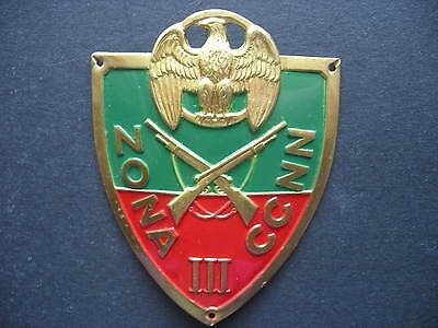 Fascist Badges Ww2 Uniforms Black Shirts' Arm Shield 1940 Scudetto Ccnn Milizia