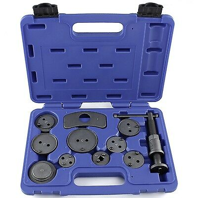 Capri Tools CP10015 Disc Brake Caliper Wind Back Tool Kit 11 Piece