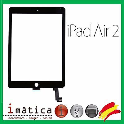 Pantalla Tactil Para Apple Ipad Air 2 Digitalizador 6Th A1566 A1567 Negro Negra