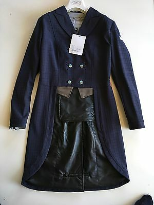 Animo Dressage Long Tails Competion Jacket  Lamarta Frack Navy  i42 Uk10 US8 BN