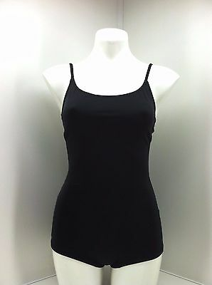 Onzie Black Shortie Leotard. Size S/M
