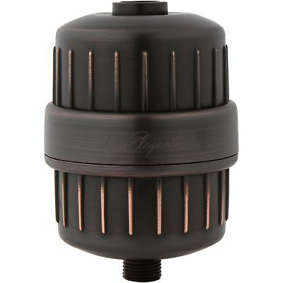 One-Year Universal Shower Filter (Aqua Elegante) - Oil-Rubbed Bronze