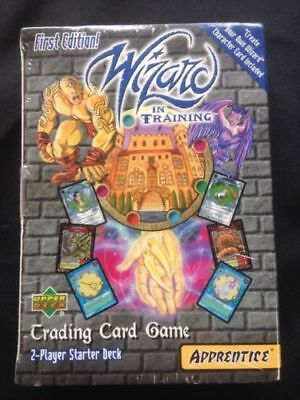 UPPER DECK - Wizard in training 1st edition trading card game from 2000 (6078)