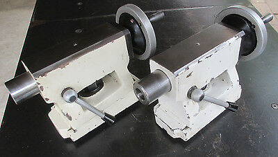 """(2) Matching 4-1/2"""" Adjustable Tailstocks - Bench Center Milling - Free Ship!"""