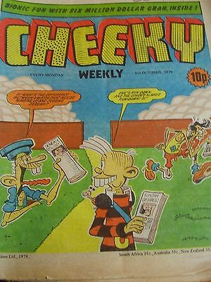 Cheeky Weekly 6Th October 1979