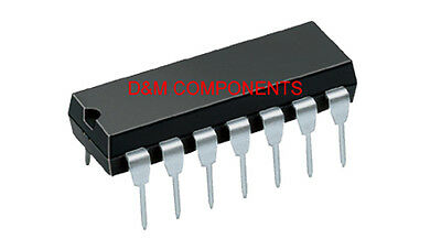TL084CN Low Noise J-FET Quad Operational Amplifiers, Pack 2, 5 or 10