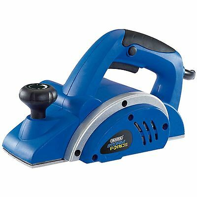Draper Storm Force 82mm Electric Planer Wood Planing Power Tool 480W 230V
