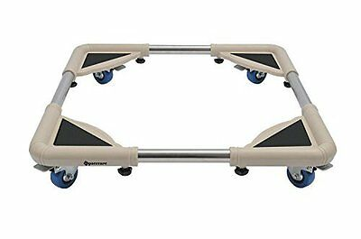 SPACECARE 4 Rubber Locking Swivel Wheels Telescopic Furniture Dolly Roller With
