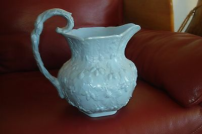 Antique 19thC  English Relief Molded   Jug