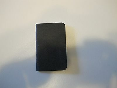 Small Address Book, Credit card size, Fits in your wallet