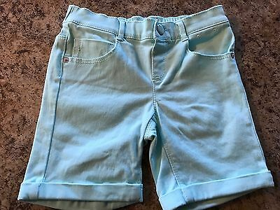 GYMBOREE   Toddler/girls   BLUE   Stretch Shorts  Size 5T  EUC