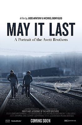 May It Last A Portrait Of The Avett Brothers Movie Poster 18'' X 28''