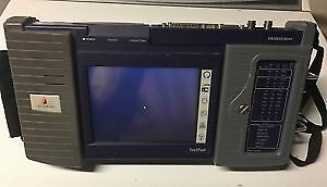 Acterna JDSU FST-2000 TestPad with Fireberd 8000 Fiber Ethernet Tester w/Battery