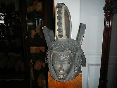 Nigeria Colorful MMWO Maiden Mask