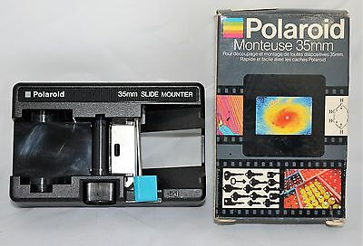Polaroid 35mm Film Slide Mounter Monteuse with Box