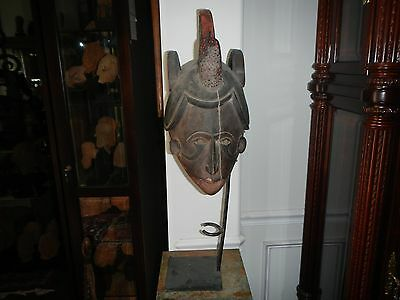 Nigeria Old Colorful MMWO Maiden Mask