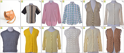 """JOB LOT OF 25 VINTAGE WOMEN""""S KNITS - Mix of Era's, styles and sizes (21873)*"""