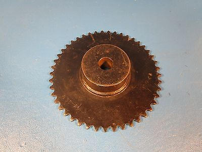 TriClover 35B45, 5/8 Bore, 45 teeth, Steel Sprocket (Martin 35B45)
