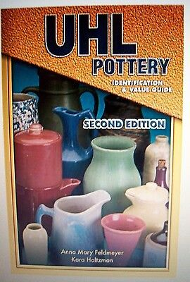 VINTAGE UHL ART POTTERY COLLECTORS BOOK Price Guide
