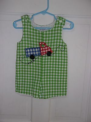 Boutique Mud pie not smocked shortall/one piece 9-12M Spring/Summer!! EUC!!