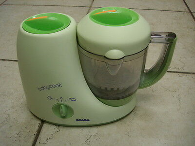 Beaba Babycook Classic Baby Food Processor/Steamer/Blender Cooker  EUC