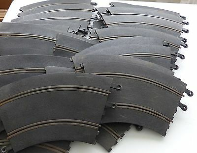 Large quantity of 25 Scalextric track - please see description for each type