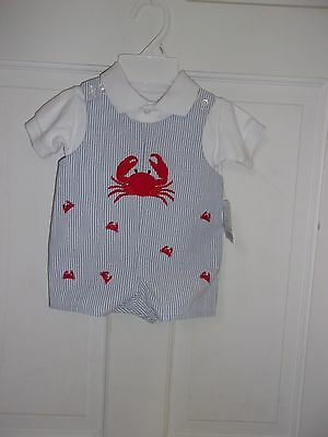 Boutique not smocked shortall/one piece set 3 m Spring/Summer!! NWT!