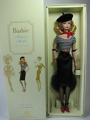 The Artist Barbie Doll, Barbie Fashion Model Collection, M4973, 2008, Nrfb