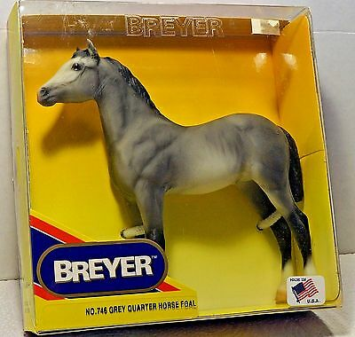 VINTAGE 1998 Breyer Model GREY QUARTER HORSE FOAL Still in Box!!!