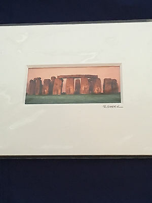"Robert Kawika Sheer ""Spirits of Stonehenge"" Photo"