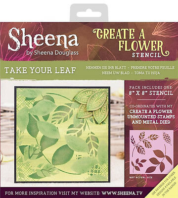 Take Your Leaf - Crafter's Companion Sheena Douglass Create A Flower Stencil