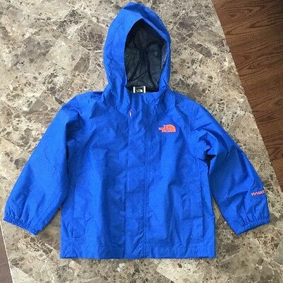 The North Face HyVent Light Weight Rain Coat Jacket, Toddler 3T Blue