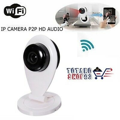 Telecamera Ip Camera Audio Onvif Hd 720P Ir Wireless Wifi P2P Ipcam Ent.micro Sd