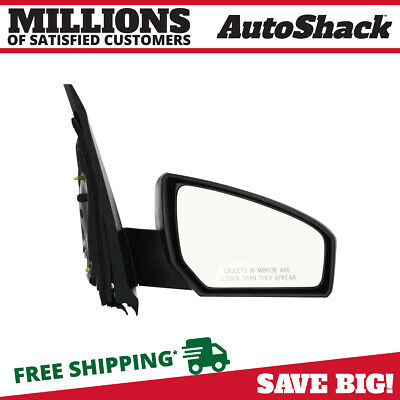 New Power Passenger Right RH Side View Door Mirror fits 07-12 Nissan Sentra