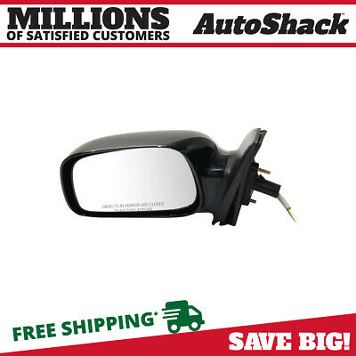 1 New Power Non-Foldaway Left Drivers Side View Mirror fits 03-08 Toyota Corolla