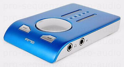 RME Babyface Audio Interface USB 2.0 Blue + OVP + Neuwertig & Garantie