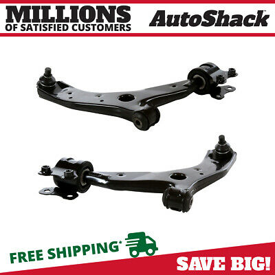 New Pair of Front Left & Right Lower Control Arms with Ball Joints for Mazda 3 5