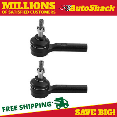 Pair (2) Front Outer Tie Rod Ends fits 07-13 Chrysler Dodge Jeep